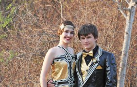 Выпускники в скотче. Фото facebook.com/ducktape