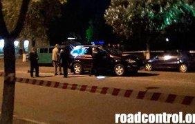 Убийцы изрешетили машину милиционеров из автоматов