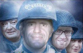 Руководитель государственной службы по чрезвычайным ситуациям Зорян Шкиряк во второй раз стал героем фотожаб. фото - неизвестный автор