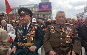Парад оккупантов в Донецке