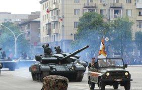 Парад оккупантов в Луганске