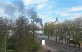 Пожар на ВДНХ 9 мая