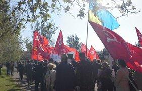 Приблизительное количество участников шествия до 200 человек. Фото Александр Рудоманов