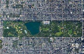 Центральный парк в Нью-Йорке площадью 843 акра