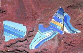 Калийные пруды в Юте
