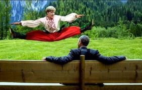 После встречи Меркель и Обамы на G7 люди шутят в соцсетях.