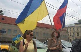 Москвичи не побоялись выступить против Путина. Фото: Роман Цимбалюк/УНИАН