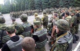 Батальон создан для участия в Антитеррористической операции. Источник: Вячеслав Амбоськин.