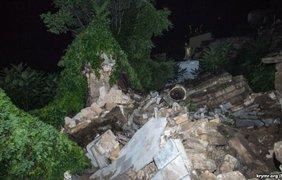 Часть лестницы рухнула во время спектакля