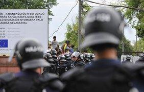 Конфликт мигрантов в Венгрии