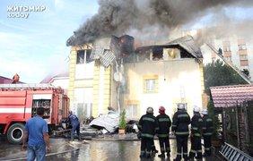 """Пожар произошел в развлекательном комплексе """"Релакс"""""""