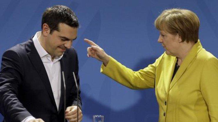 Меркель рассказала что будет в случае проведения Грецией референдума