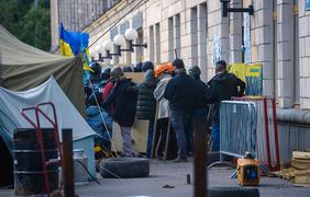 В Москве снимают сериал о Евромайдане