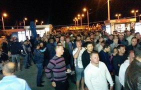 Очередь на Керченской переправе. Фото facebook/tsurkin