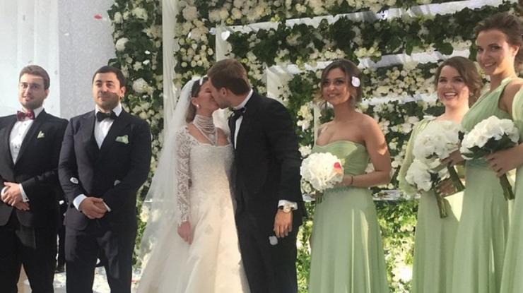 Свадьба дочери глаголевой видео