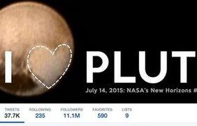 Пользователи соцсетей уже во всю обсуждают последний снимок Плутона. Twitter