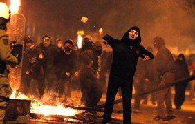 Столкновения в Афинах