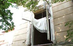 Граната взорвалась в жилом доме. Фото: mvs.gov.ua