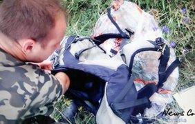 Опубликованы первые кадры на месте сбитого Боинга