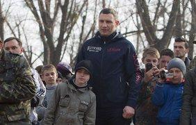 Виталий Кличко празднует 44 года. Фото facebook/Vitaliy.Klychko