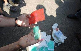 Поддельные печати в Чернигове. Фото: facebook.com/vitaliy.kupriy