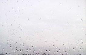 Утро понедельника в Киеве выдалось дождливым