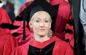 Джоан Роулинг получила степерь в Гарвардском университете
