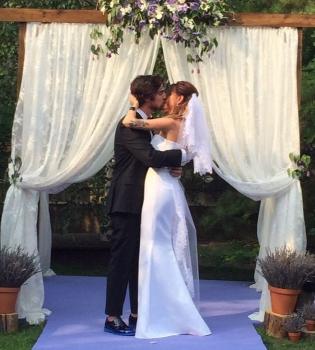Свад�ба Владими�а Дан�е�а пе�в�й �ане� и лавандов�е