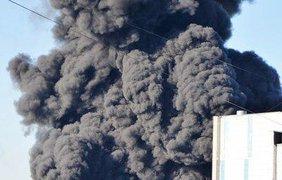 Пожар в Москве. Фото @infomoscow24