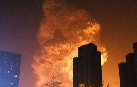 Взрыв в Китае. Фото @XHNews