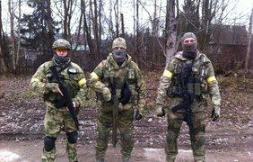Диверсанты Дениса переодетые в украинских солдат