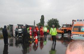 В результате аварии 3 человека погибло. Фото viata-libera.ro