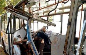 Авария троллейбуса в Одессе. Фото 7kanal.com.ua