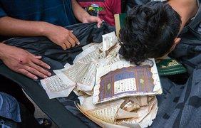 В Германии беженцы устроили погром из-за Корана