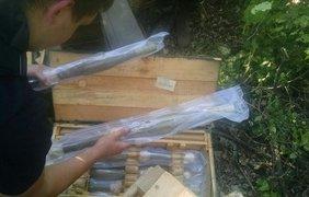 Саперы провели разминирование боеприпасов. Фото Георгия Туки
