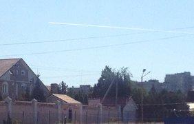 Истребители над Луганском