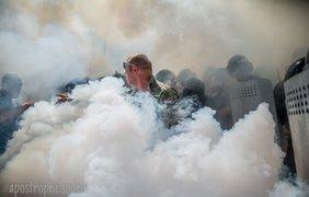"""Журналист заснял """"ангела""""-хранителя под Радой. Фото Facebook/Влад Содель"""