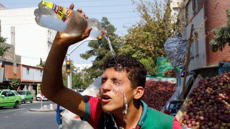 Аномальная жара в Тегеране