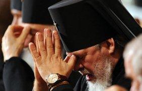 Глава Русской православной церкви патриарх Кирилл и его часы за 30 тысяч долларов