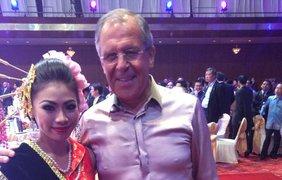 Лавров на саммите в Малайзии. Фото: facebook/maria.zakharova.167