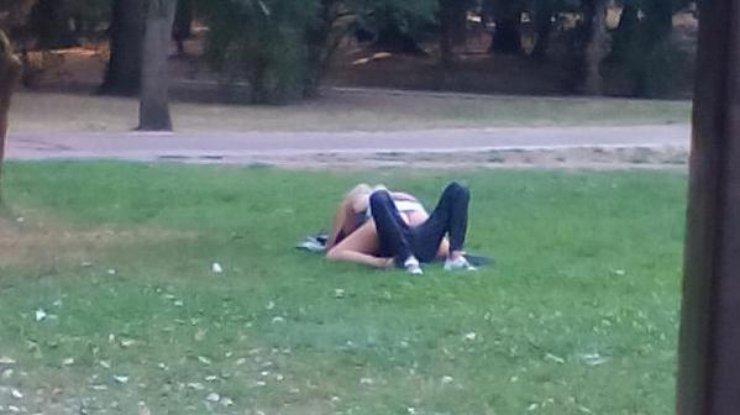 занялись сексом в парке сокольники