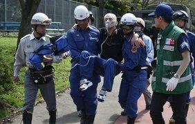 Японию затопило из-за проливных дождей