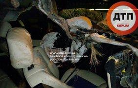Смертельная авария произошла на столичном Южном мосту