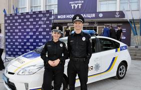 В Полтаве начался набор в патрульную полицию