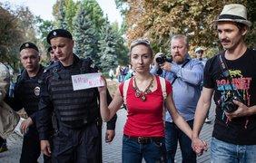 """""""Марш мира"""" в Москве. Фото: Филлип Киреев"""