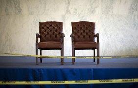 Кресла для глав государств в здании Секретариата