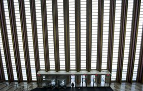 Главный вход в здание Генеральной Ассамблеи
