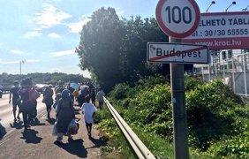 Беженцы прорываются в Евросоюз