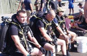 В Одессе украинские и американские водолазы провели совместные тренировки