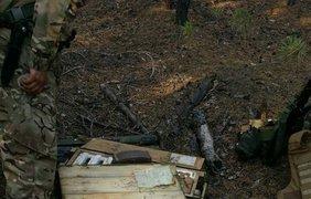 Тайник, который обнаружили украински военные. Facebook/artem.shevchenko